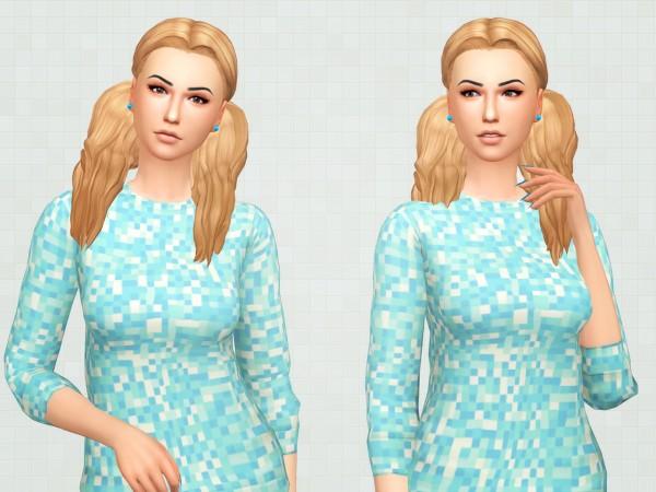 Kot Cat: Laila hair for Sims 4