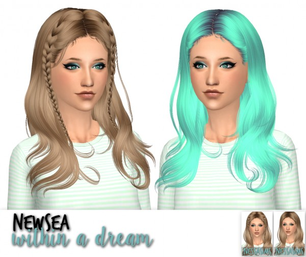 Nessa sims: Newseas Shepherd, Wake up and Within a dream for Sims 4