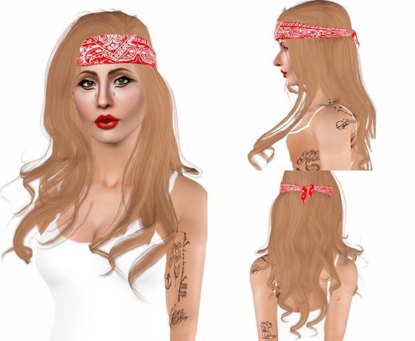 Joseph Sims: Anto   Kiss hair retextured for Sims 4