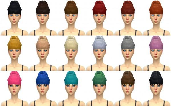Simduction: Paris Hair for Sims 4