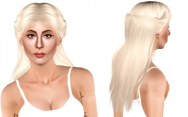 Joseph Sims: Anto  Gold Dust hair retextured for Sims 4