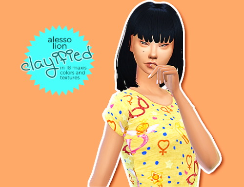Hab Sims: Alesso Lion clayified for Sims 4