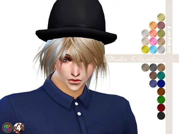 Studio K Creation: Animate hair 52  KYO for Sims 4