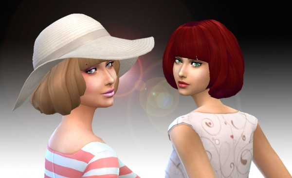 Mystufforigin: Urban Hairstyle for Sims 4
