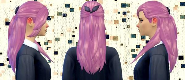 Simduction: Rosita hair V2 for Sims 4
