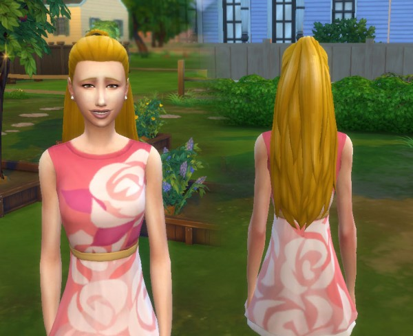 Mystufforigin: Indecision hair V2 for Sims 4