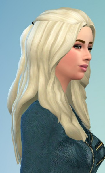 Birksches sims blog: Floating hair for her for Sims 4