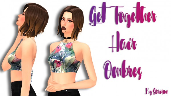 Enrique: Get Together Hair Ombres for Sims 4