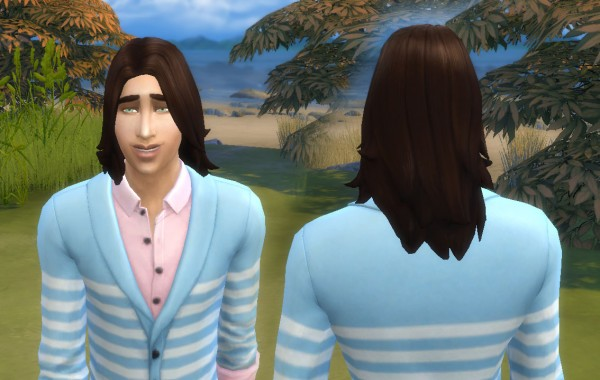 Mystufforigin: John Hairstyle for Sims 4