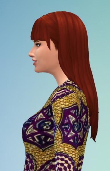 Birksches sims blog: Mina hair for Sims 4