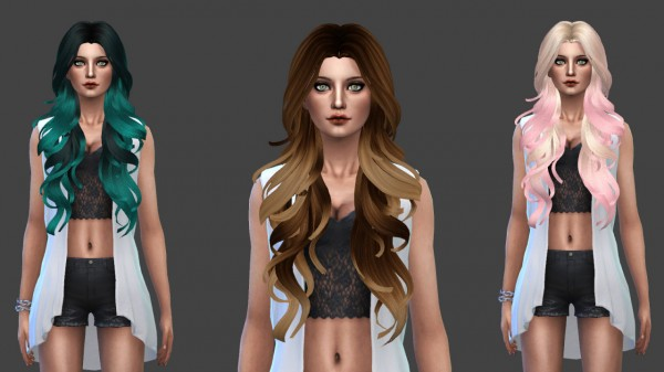 Ardatndr: Peggy`s 070 Hair converted from TS3 to TS4 for Sims 4