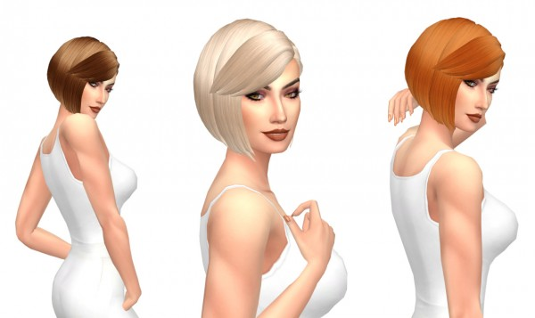 Sims Fun Stuff: Kiara`s Innocent hair retextured for Sims 4