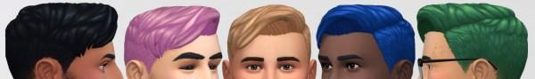 Whoohoosimblr: Manicurehair retextured for Sims 4