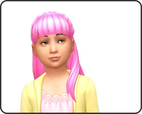 Pixelie: Hannah for Girls for Sims 4