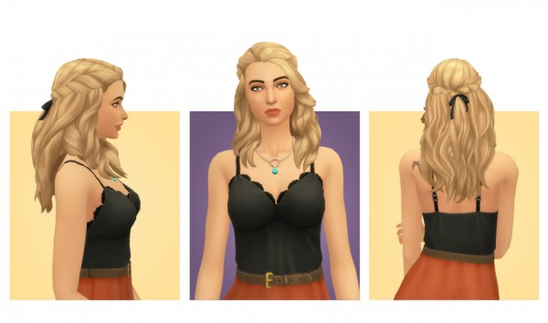 Simple Simmer: Helen Hair for Sims 4