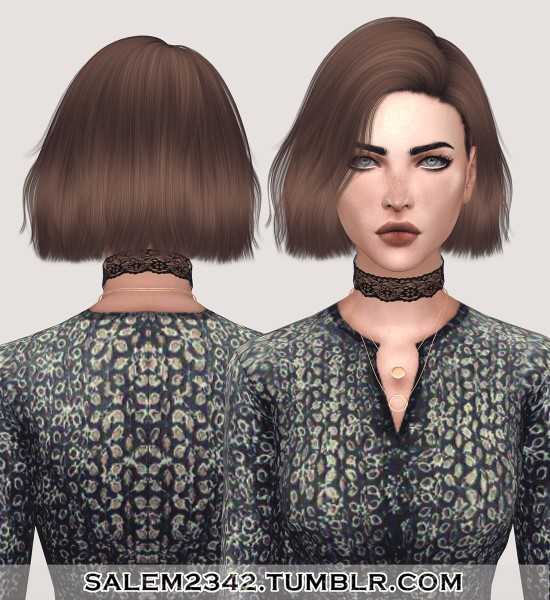 Salem2342: Nightcrawler`s Confetti hair retextured for Sims 4