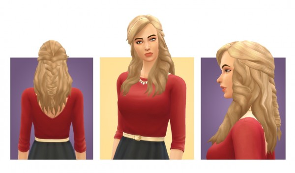 Simple Simmer: Emma hair for Sims 4