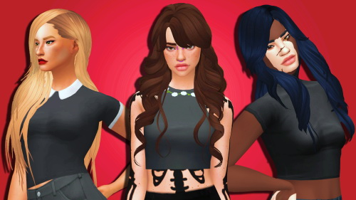 Weepingsimmer: Clayified Hair Mega Pack   Part 1 for Sims 4