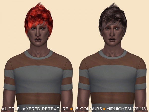 Simsworkshop: Alittlelayered Natural Retextured by midnightskysims for Sims 4