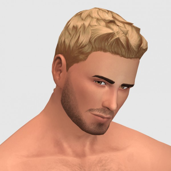 xldsimsdownloads: Horizon hair for Sims 4