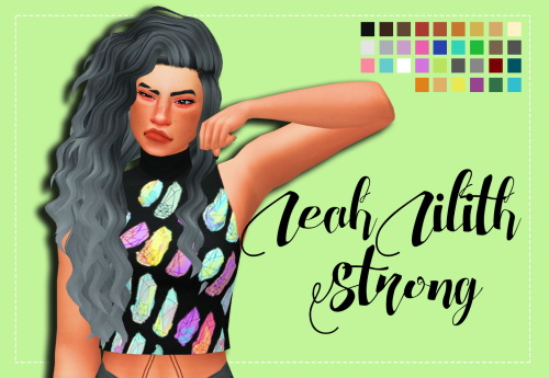 Weepingsimmer: LeahLilith`s Strong Clayified   1000 Followers Gift for Sims 4