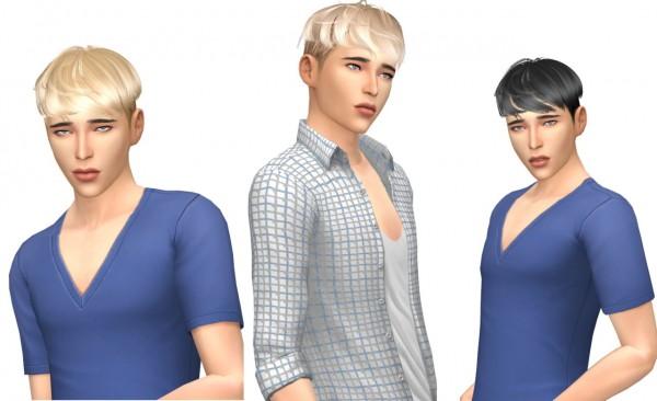 Sims Fun Stuff: Maysims 183 hair retextured for Sims 4