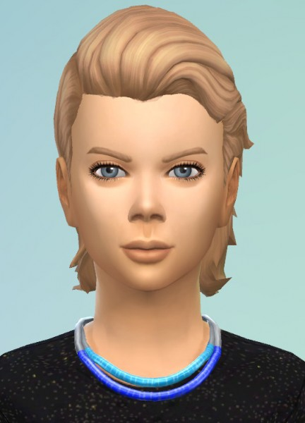 Birksches sims blog: Slickback Hair for Boys for Sims 4