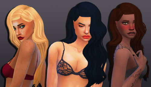Weepingsimmer: LeahLillith`s Antique Hair Clayified for Sims 4