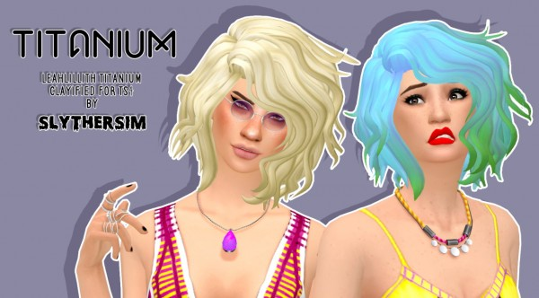 Slythersim: LeahLillith's Titanium Clayified for Sims 4