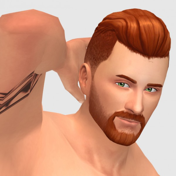 xldsimsdownloads: Urban Ranger hair for Sims 4