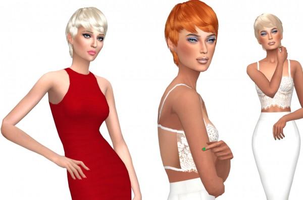 Sims Fun Stuff: Maysims hair 88 retextured for Sims 4