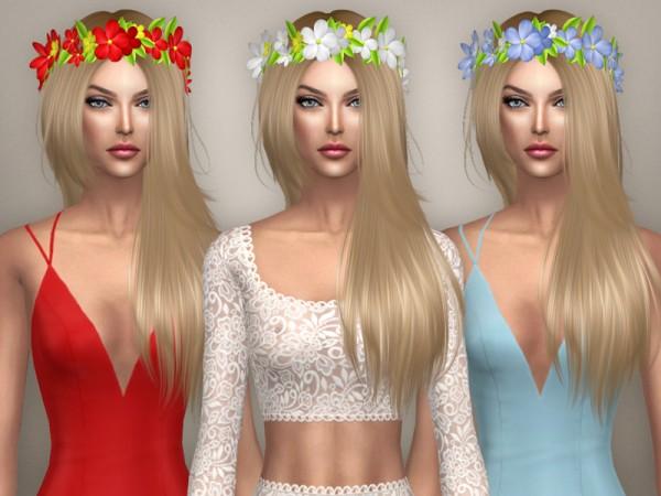 Sintiklia Sims: Hair 39 Anita for Sims 4