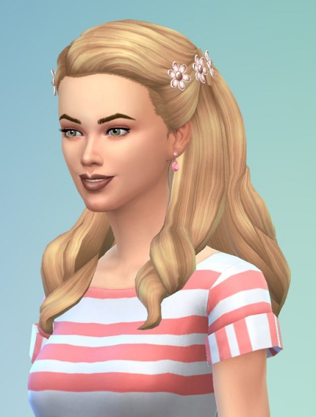 Birksches sims blog: Diner Hairstyle for Girls for Sims 4