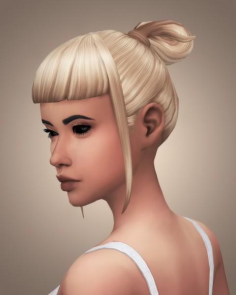 Littlecrisp: Miniature Sandwich Kristin Hairs   Recolored for Sims 4