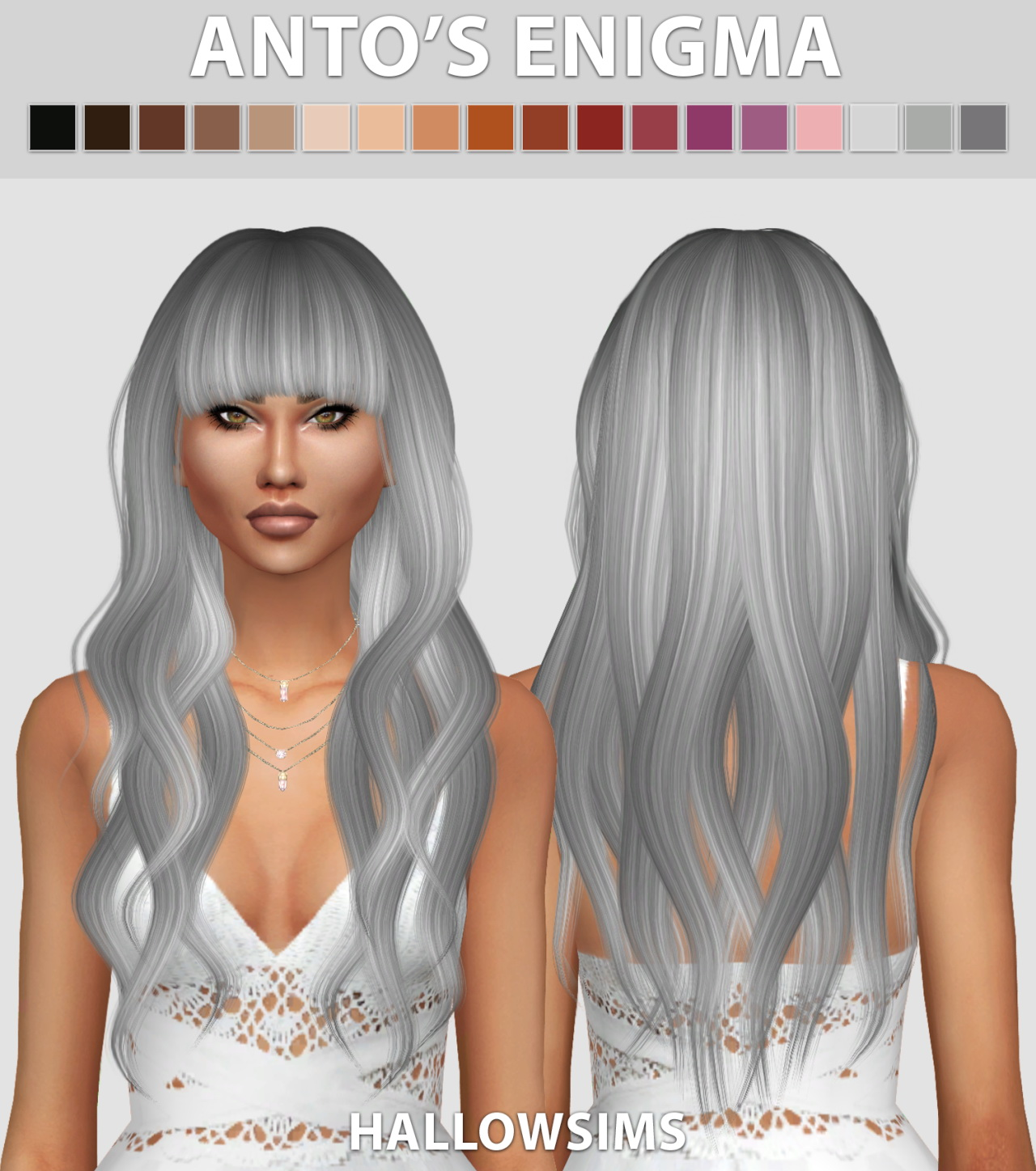 Sims 4 Hairs Hallow Sims Storm Hair | sims 4 hairs hallow ...