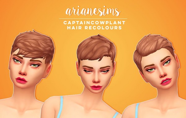 Ariane Sims: Devyn, Emerald and Evelyn hair for Sims 4