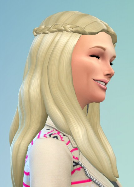Birksches sims blog: Anabell Hair for Sims 4