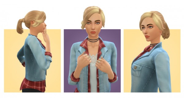 Simple Simmer: Anya Hair for Sims 4