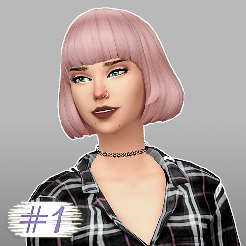 Whoohoosimblr: Dine Out game pack   hair recolored for Sims 4