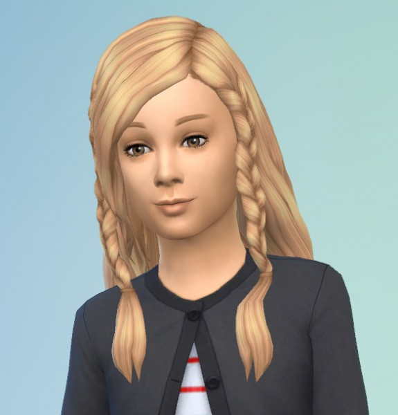 Birksches sims blog: Twin Braids for Sims 4