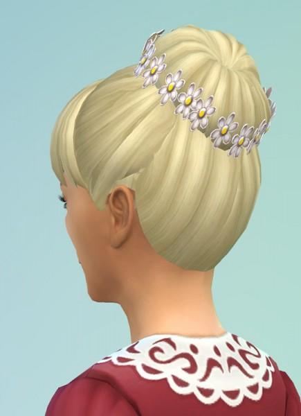 Birksches sims blog: Daisy hair for gilrs for Sims 4