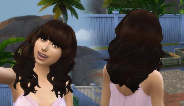 Mystufforigin: Peggy`s 885 Hair Conversion for Sims 4