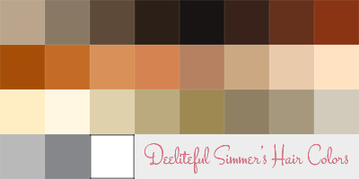 Simsworkshop: 26 Get Together Hair Recolors by  deelitefulsimmer  for Sims 4