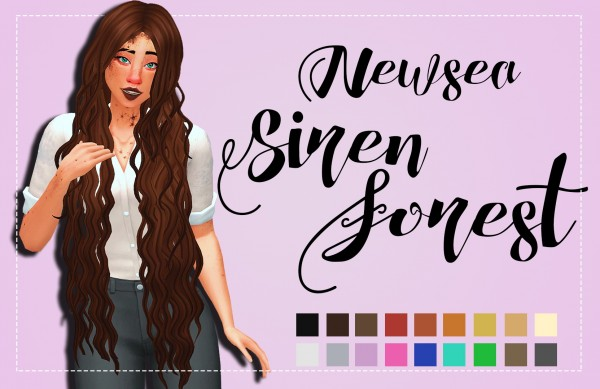 Simsworkshop: Siren Forest Clayified for Sims 4