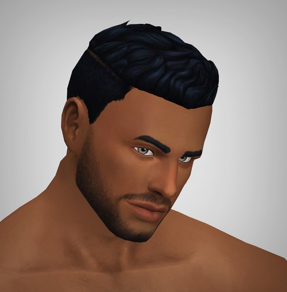 Sims 4 Hairs Xldsimsdownloads Urban Surfer Hair