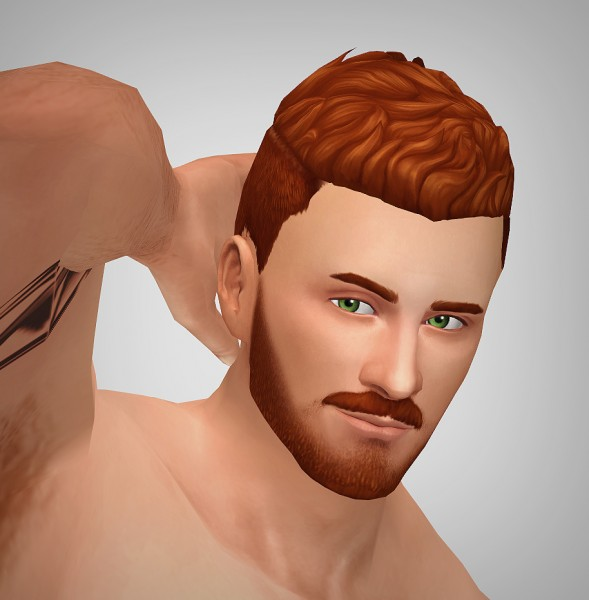 xldsimsdownloads: Urban surfer hair for Sims 4