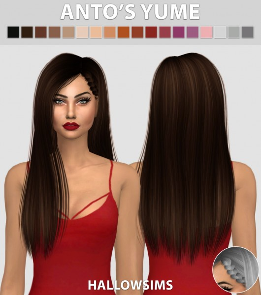 Hallow Sims: Anto's Yume for Sims 4