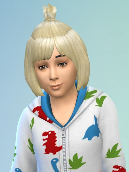 Birksches sims blog: Toddler Blues Hair for Sims 4