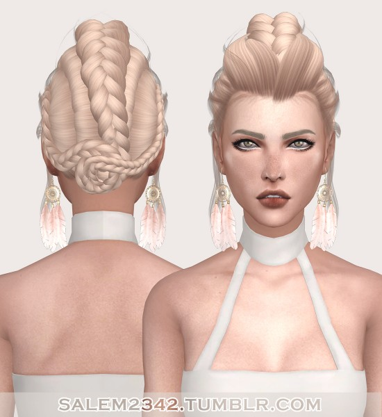 Salem2342: LeahLillith`s Ethereal Hair Retextured for Sims 4