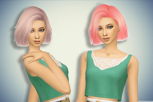 Pllumbobbilypixels: Nightcrawler`s Confetti hair retextured for Sims 4